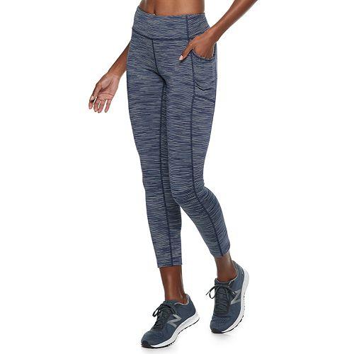 0d6af1a618db0 Women's Tek Gear® Performance Side Pocket Mid-Rise Ankle Leggings