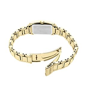 Seiko Women's Diamond Accent Stainless Steel Solar Watch - SUP406