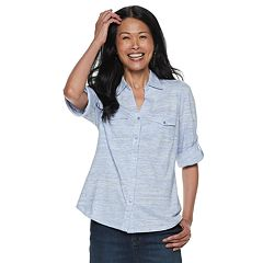 Women's Cathy Daniels Space-Dye Shirt