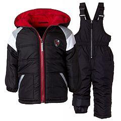 Boys 4-7 I-Extreme Colorblock Heavyweight Jacket & Bib Snowpants Set