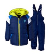 Boys 4-7 I-Extreme Colorblock Heavyweight Jacket & Bib Snowpants Set