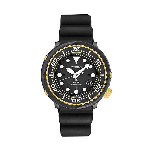 Seiko Men's Prospex Solar Dive Watch - SNE498
