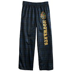Boys 6-14 Harry Potter Hogwarts Plaid Lounge Pants