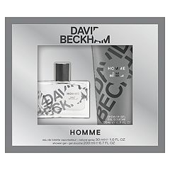 David Beckham Homme Men's Cologne  & Shower Gel Set - Eau de Toilette ($32 Value)