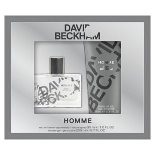 David Beckham Homme Men's Cologne  & Shower Gel Set - Eau de Toilette