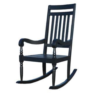 Carolina Outdoors Belmont Slatted Rocking Chair