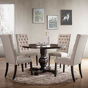 Carolina Living Carson Pedestal Dining Table