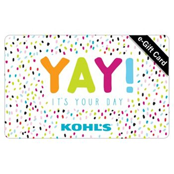 Birthday Yay E Gift Card