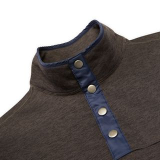 Men's IZOD Spectator Classic-Fit Fleece Snap-Front Pullover