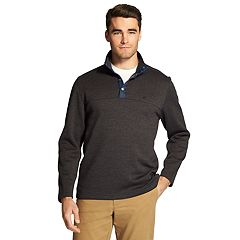Men's IZOD Spectator Classic-Fit Fleece Snap-Front Pullover