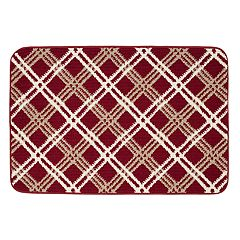 SONOMA Goods for Life™ Plaid Memory Foam Rug