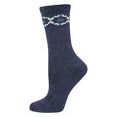 Women's SONOMA Goods for Life™ Geometric Trim Crew Socks