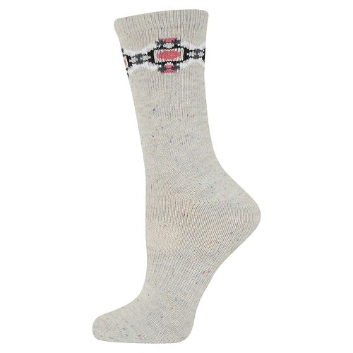 Women's SONOMA Goods for Life™ Geometric Trim Crew Socks