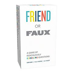 Pressman Toy Friend or Faux Card Game