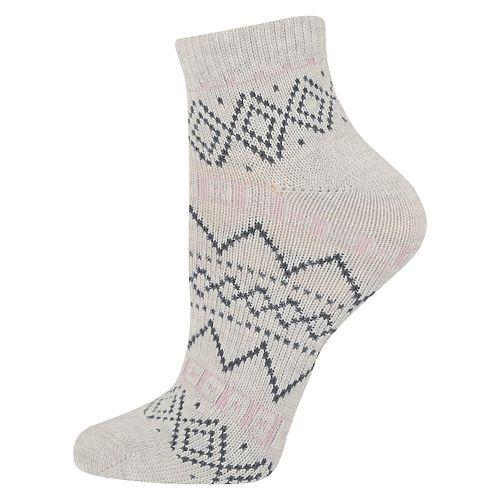 Women's SONOMA Goods for Life™ Fairisle Ankle Socks