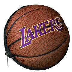 Los Angeles Lakers Basketball to Duffel Bag