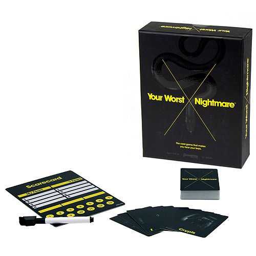 Pressman Toy Your Worst Nightmare Card Game