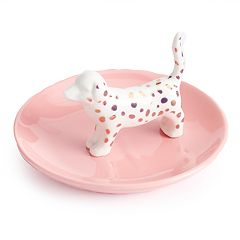 LC Lauren Conrad Spotted Dog Trinket Tray
