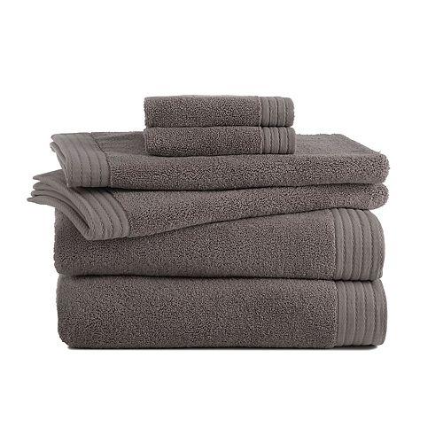 Grand Patrician 6-piece Turkish Cotton Luxury Bath Towel Set