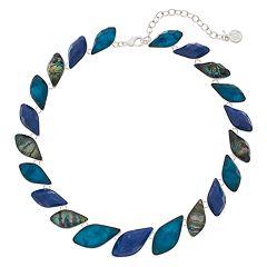 Dana Buchman Abalone Statement Collar Necklace