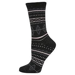 Women's SONOMA Goods for Life™ Nordic Fairisle Crew Socks