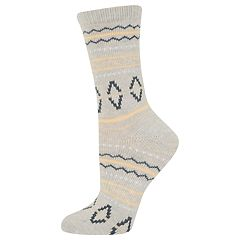 Women's SONOMA Goods for Life™ Nordic Fairisle Crew Socks