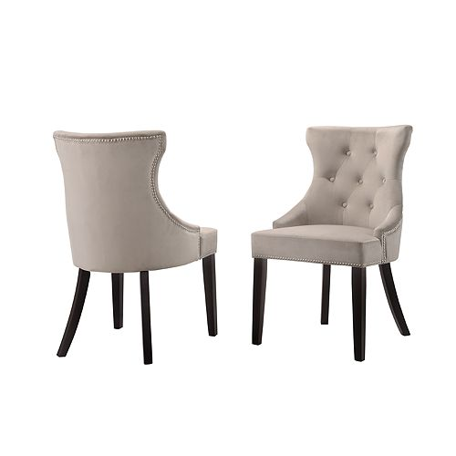 Carolina Living Julia Tufted Dining Chair 2-piece Set