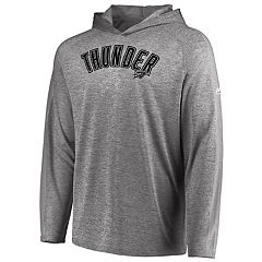 Men's Majestic Oklahoma City Thunder Fan Flow Hooded Tee