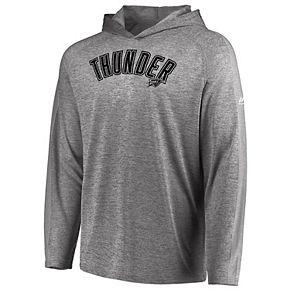 Men's Majestic Oklahoma City Thunder Fan Flow Hooded Tee