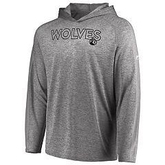 Men's Majestic Minnesota Timberwolves Fan Flow Hooded Tee