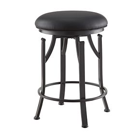Carolina Living Rainier Swivel Counter Stool