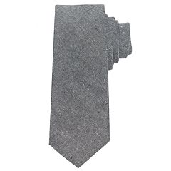 Men's Chaps Linen-Blend Patterned Tie