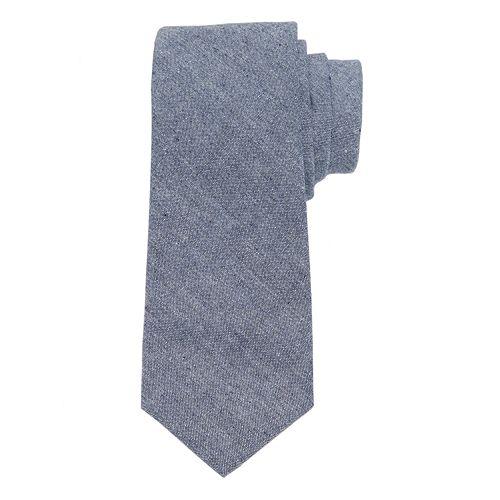 Men's Chaps Linen-Blend Patterned Tie