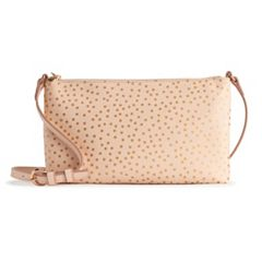 LC Lauren Conrad Crossbody Bag with USB Charger