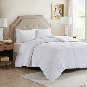 Sleep Philosophy 300 Thread Count Cover Tencel® Filled Down Alternative Comforter with Antimicrobial BI-OME Odor Eliminator