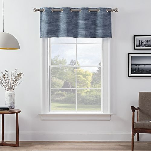 eclipse Wyckoff Thermaweave Blackout Window Valance