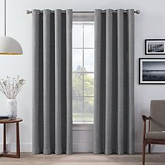 eclipse 2-pack Wyckoff Thermaweave Blackout Window Curtains