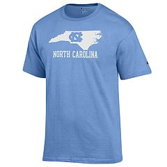 Men's Champion North Carolina Tar Heels Letters Tee