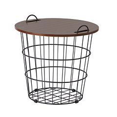 SONOMA Goods for Life™ Wire Basket End Table