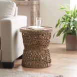 SONOMA Goods for Life? Decorative Seagrass Tray Top Storage End Table