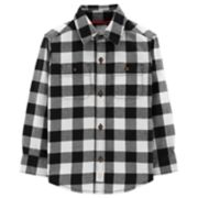 Toddler Boy Carter's Plaid Flannel Button Down Shirt