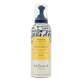 TRUHAIR Revive & Style Instant and Temporary Hair Color Mousse