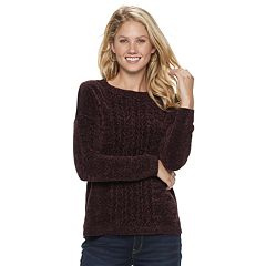 Women's SONOMA Goods for Life™ Chenille Crewneck Sweater