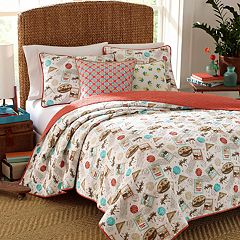 Nine Palms Havana Cotton Quilt Set