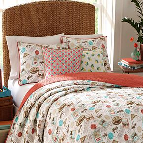 Nine Palms Havana Cotton Quilt Set