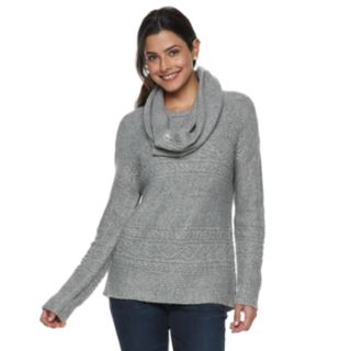 Women's SONOMA Goods for Life? Supersoft Textured Crewneck Sweater