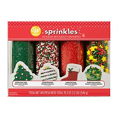 Wilton Mega Merry Holiday Sprinkles 4-pack