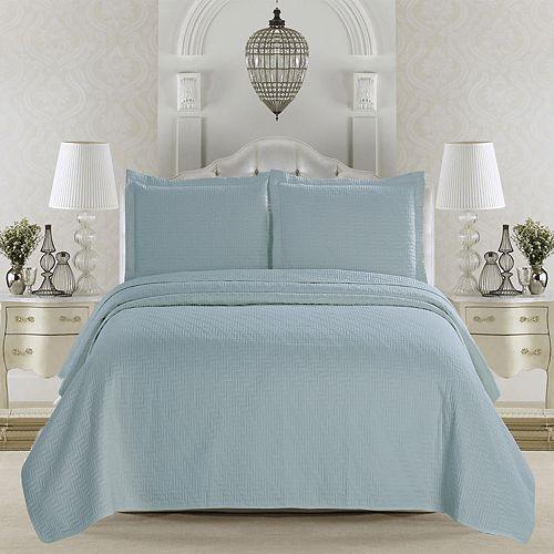 Home Fashion Designs Emerson Collection 3-piece Quilt Set