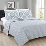 Home Fashion Designs Arabesque Collection 3-piece Quilt Set