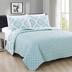 Home Fashion Designs Arabesque Collection 3-piece Quilt Set
